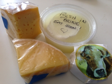 cheeses from Liz and Teri