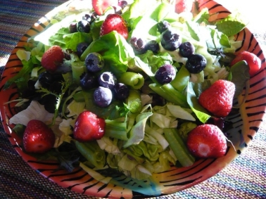 Typical Huge Salad